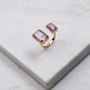 Electra Amethyst Ring - rings