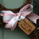 Personalised Easter Bunny Wreath