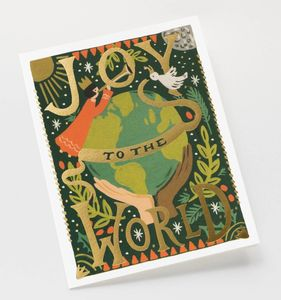 Joy To The World Christmas Card Box Set - cards & wrap