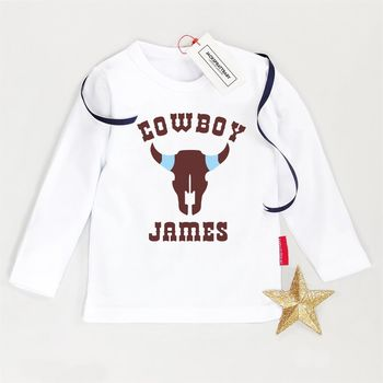 Personalised Cowboy T Shirt