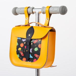Space Print Rocket Scooter Satchel