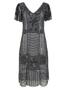 Daisy Gatsby Inspired Flapper Dress - dresses
