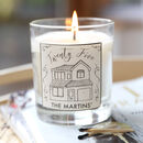 Personalised House Scented Candle