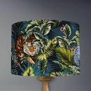 Bengal Tiger Lampshade In Twilight