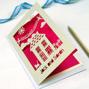 Personalised New Home Laser Cut Card