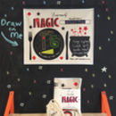 Kids Chalkboard Placemat Magic Design