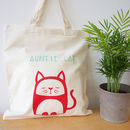 Personalised Organic Cotton Tote Bag