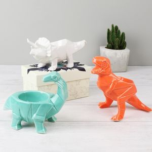 Origami Dinosaur Egg Cups - dining room