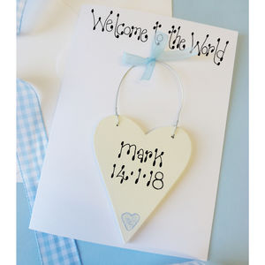 New Baby Personalised Card - new baby cards