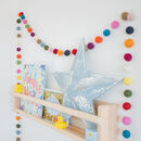 Extra Long Felt Ball Garland