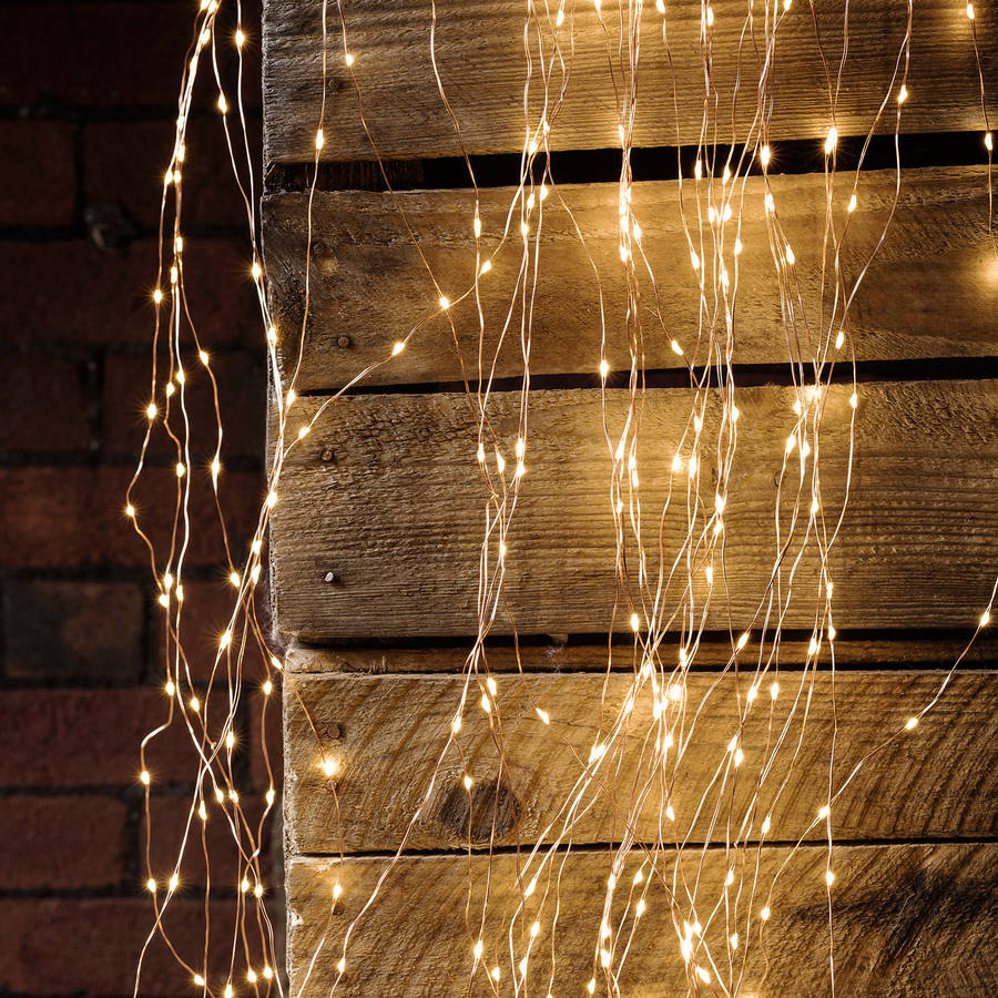 Copper Wire Christmas Lights