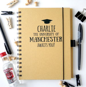 University Awaits You Personalised Notebook
