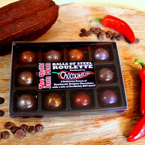 Balls Of Steel Chilli Chocolate Roulette 100g