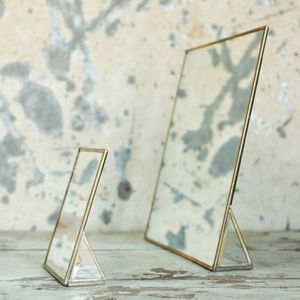 Brass Standing Mirror - decorative accessories