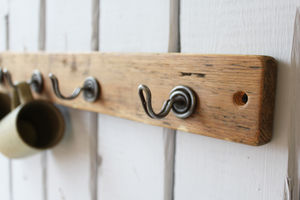 Reclaimed Industrial Wire Hook - more