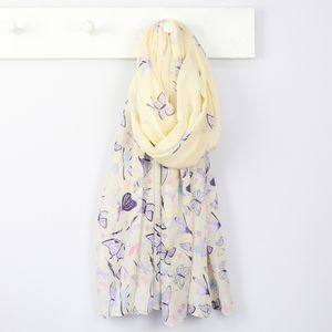 Butterfly Scarf - valentine's gifts for her