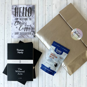 Cuppa And Classics Book Subscription - mother's day gifts