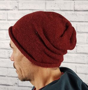 Eco Friendly Beanie Hat Reds