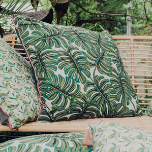 Extra Large Tropical Print Cushion - floor cushions & beanbags