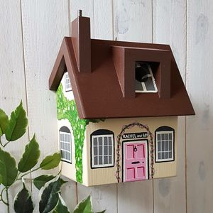 Personalised Mother's Day Cottage Bird Box