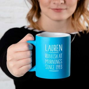 Personalised Coffee Mug For Women - mugs