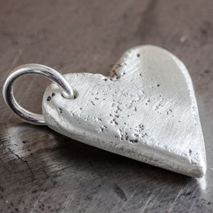 Personalised Large Heart Charm