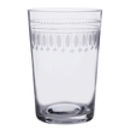 Set Of Six Oval Art Deco Style Tumblers