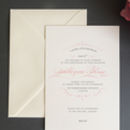 Personalised Christening Invitation