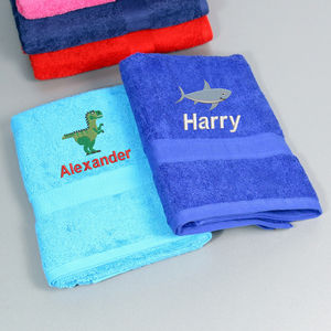 Children's Personalised Bath Towel - baby care