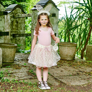 Rabbit Ears And Tutu Skirt Set: 3 To 11 Years