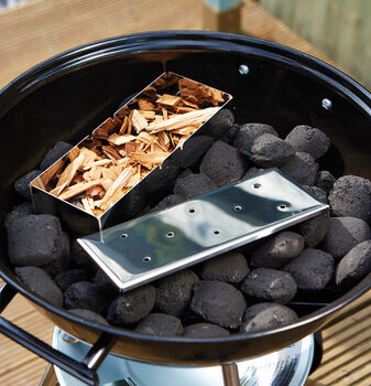 Stainless Steel Barbecue Smoking Box