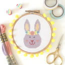 Bunny Rabbit Cross Stitch Kit