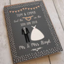 Personalised Classic Wedding Card