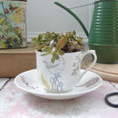 Bone China Teacup Planter