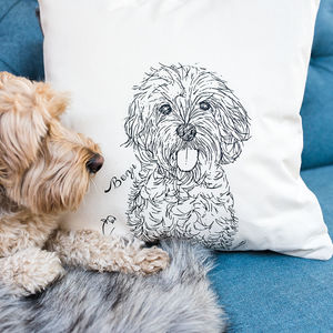 Personalised Cockerpoo Cushion - sale