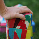 Upcycled Flip Flop Yoga Block