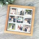 Solid Oak Nine Tile Frame