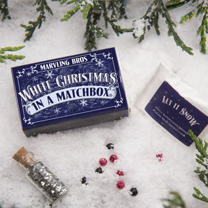Make Your Own Snow Christmas Kit