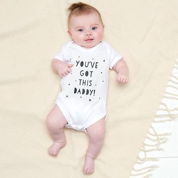 Father's Day Baby Clothing