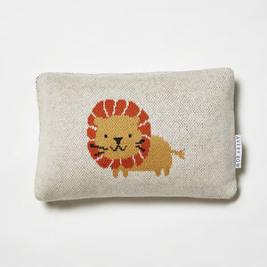 Woolly Lion Cushion