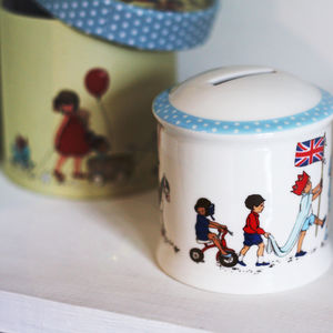 Children's Fine China Money Boxes
