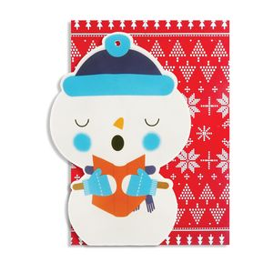 Christmas Inflatable Character Cards