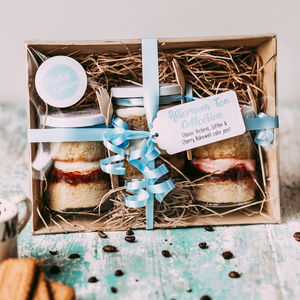 Afternoon Tea Cake Jar Collection - gift sets