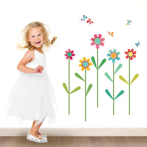 Flower Wall Sticker Pack
