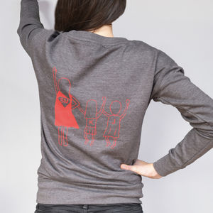Personalised Super Mum Sweatshirt - sweatshirts & hoodies