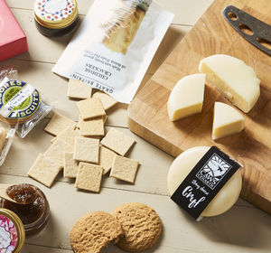 Luxury Cheese And Biscuits By Post Hamper - bread & cheese