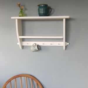 Country Cottage Shelf And Wooden Peg Rail - storage