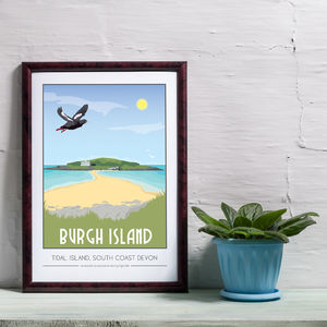 Burgh Island, South Coast Devon Print