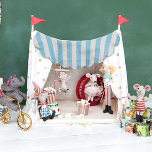 Maileg Mice Circus Set - play scenes