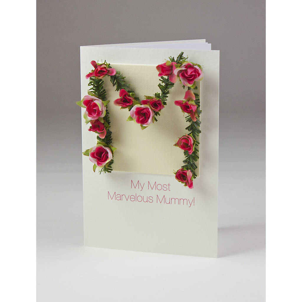 Most Marvellous Mummy Personalised Card